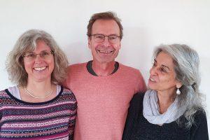 AssesorenInnenteam Nord-Ost: Marianne Sikor, Johannes Henn, Vivet Alevi